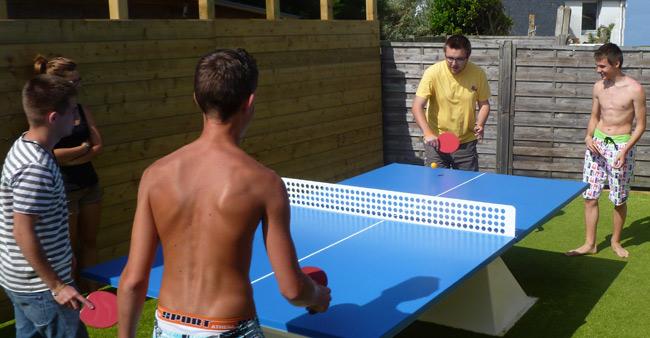 ping pong camping pen er malo