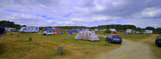 vue camping bretagne 2 étoiles