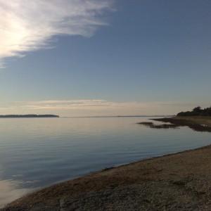 L'Estuaire de La Vilaine entre Billiers et Penestin, Le Moustoir à coté du camping