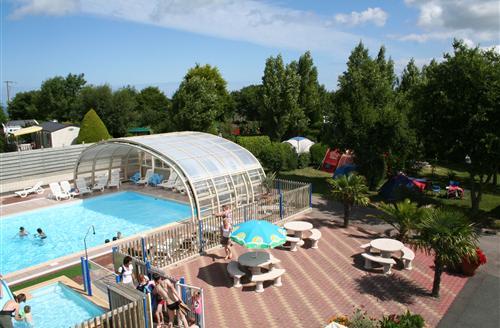 camping bretagne piscine chauffée